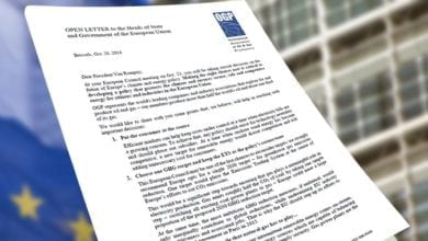 Photo of Open letter on the future of Europe's climate and energy policy