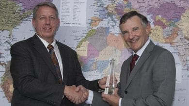 Photo of Colin Grant recognised for 'extraordinary contribution' to Metocean Committee