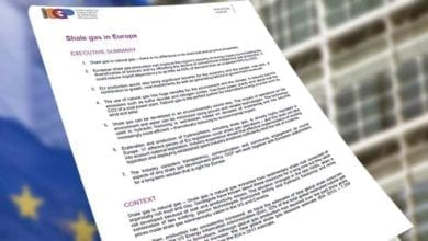 Photo of Shale gas in Europe position paper