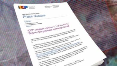 Photo of IOGP releases version 1.1 of the P6/11 Seismic bin grid data exchange format