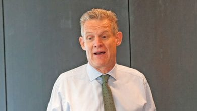 Photo of Spencer Dale of BP forecasts the global energy market future