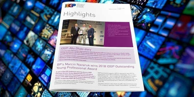 IOGP Highlights Cover May 2018