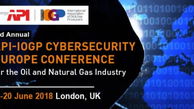 Photo of 3rd Annual API-IOGP Cybersecurity Europe Conference for the Oil and Natural Gas Industry
