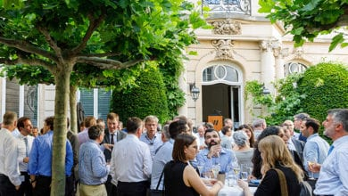 Photo of Brussels guests bask in IOGP hospitality