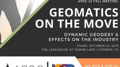 Photo of IOGP / APSG Industry Day: Geomatics on the Move. Dynamic Geodesy and Effects on the Industry
