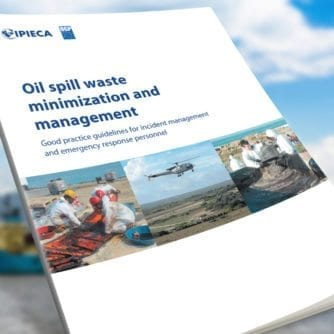 Oil spill waste minimization and management-banner