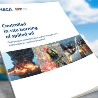 Controlled in-situ burning of spilled oil-banner