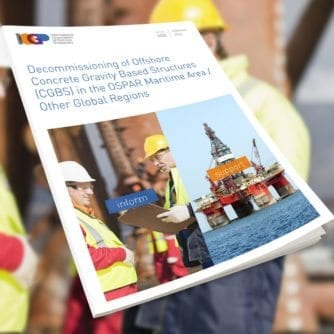 484 - Decommissioning of Offshore Concrete Gravity Based Structures cover